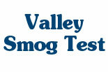VALLEY SMOG TEST logo