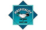 HOSPITALITY CAR WASH & QUICK L logo