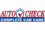 Auto Check / Bay Area logo
