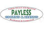 PAYLESS COOLING & HEATING logo
