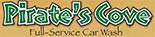 PIRATES COVE CAR WASH logo