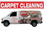 COOP'S CARPET CARE logo
