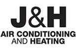 J & H A/C & HEATING logo
