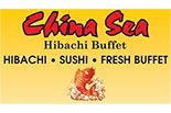 CHINA SEA HIBACHI BUFFET logo