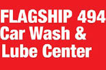 FLAGSHIP CAR WASH / KINGWOOD logo