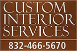 CUSTOM INTERIOR SERVICES logo