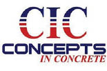CONCEPTS IN CONCRETE logo