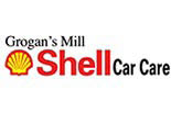 GROGAN'S MILL SHELL CAR CARE logo