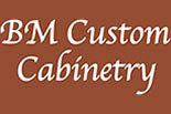 BM CUSTOM CABINTRY logo