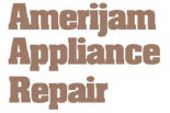 AMERIJAM APPLIANCE REPAIR logo