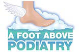 A FOOT ABOVE PODIATRY logo