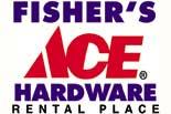 FISHER'S ACE  HARDWARE logo