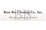 BUSY BEE CLEANING CO. logo