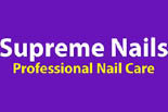 SUPREME NAILS logo