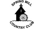 SPRING MILL COUNTRY CLUB logo