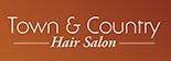 TOWN & COUNTRY HAIR SALON logo
