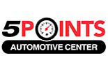 5 POINTS AUTOMOTIVE SERVICE logo