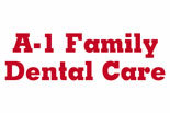 A-1 FAMILY DENTAL logo