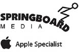 SPRINGBOARD MEDIA APPLE SPECIALIST logo