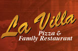 LA VILLA PIZZA & FAMILY RESTAURANT logo