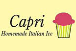 CAPRI WATER ICE logo