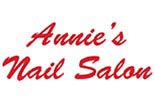 ANNIE NAILS & SPA logo