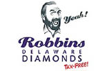 ROBBINS DIAMONDS/DELAWARE logo