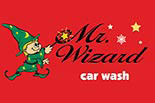 MR. WIZARD CAR WASH logo