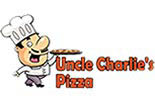 UNCLE CHARLIES PIZZA logo