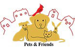 PETS & FRIENDS logo