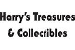 HARRY'S TREASURES & COLLECTIBLES logo