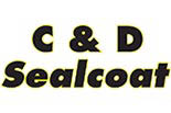 C & D SEALCOATING logo