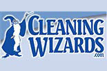 CLEANING WIZARDS logo