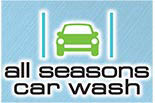 ALL SEASONS CAR WASH & LUBE logo