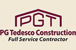PG TEDESCO CONSTRUCTION logo