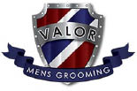 VALOR MEN'S GROOMING logo