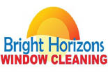 BRIGHT HORIZONS WINDOW CLEANING logo