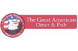 THE GREAT AMERICAN DINER & PUB logo