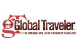GLOBAL TRAVELER MAGAZINE logo