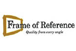FRAME OF REFERENCE ART GALLERY logo