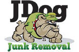 J DOG JUNK REMOVAL logo