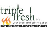 TRIPLE FRESH MARKET logo