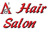 A-1 HAIR SALON logo