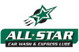 ALL STAR CAR WASH & EXPRESS LUBE logo