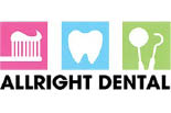 ALLRIGHT DENTAL logo