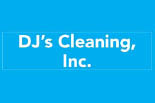 DJ'S CLEANERS logo