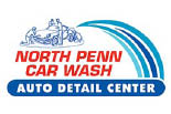 NORTH PENN CAR WASH logo