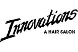INNOVATIONS. A HAIR SALON logo