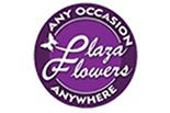 PLAZA FLOWERS logo