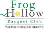 FROG HOLLOW RACQUET CLUB logo